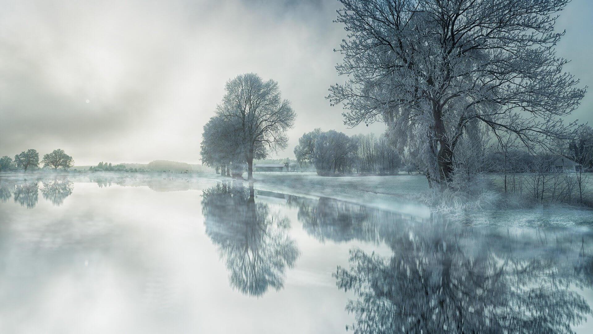 Pejzaż zimy