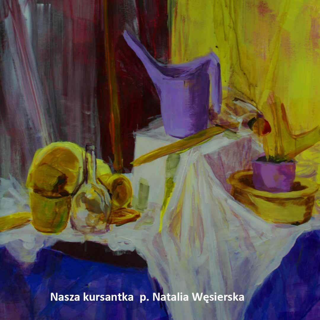 Kurs ASP Gdańsk - Wenecjusz.pl - Natalia Wesierska malarstwo
