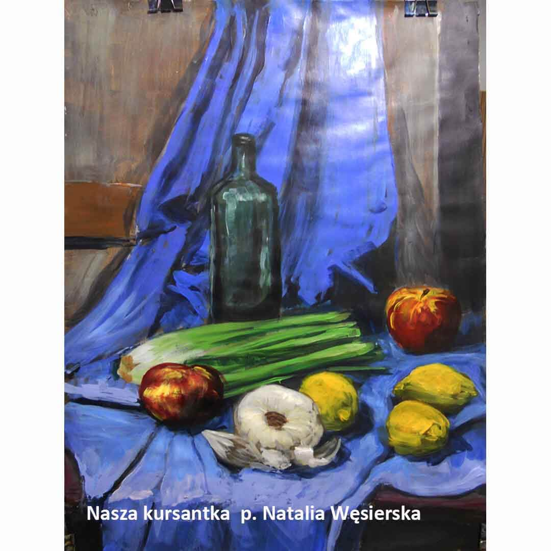 Kurs ASP Gdańsk - Wenecjusz.pl - malarstwo Natalia Wesierska