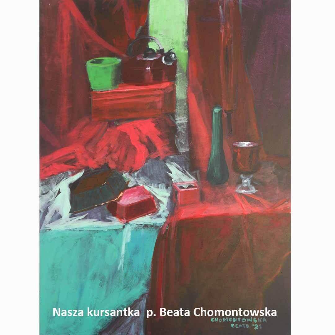 Kurs ASP Gdańsk - Wenecjusz.pl - malarstwo Beata Chomontowska
