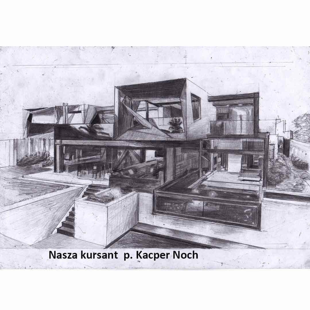 Kurs ASP Gdańsk - Wenecjusz.pl - rysunek Kacper Noch