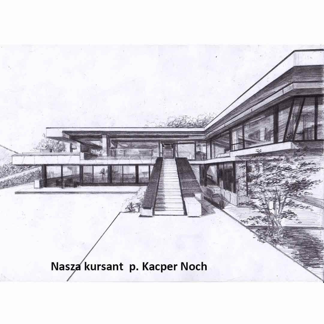 Kurs ASP Gdańsk - Wenecjusz.pl - Kacper Noch rysunek