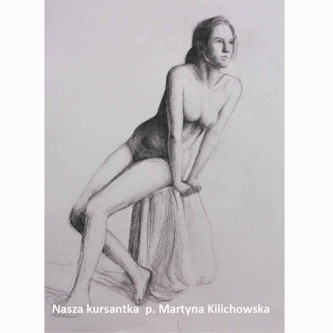 Kurs ASP Gdańsk - Wenecjusz.pl - malarstwo Maja GomerskaKurs ASP Gdańsk - Wenecjusz.pl - rysunek Martyna Kilichowska